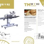formadora tm 1r r2 Moulder for mexican telera bread TM 1R and R2