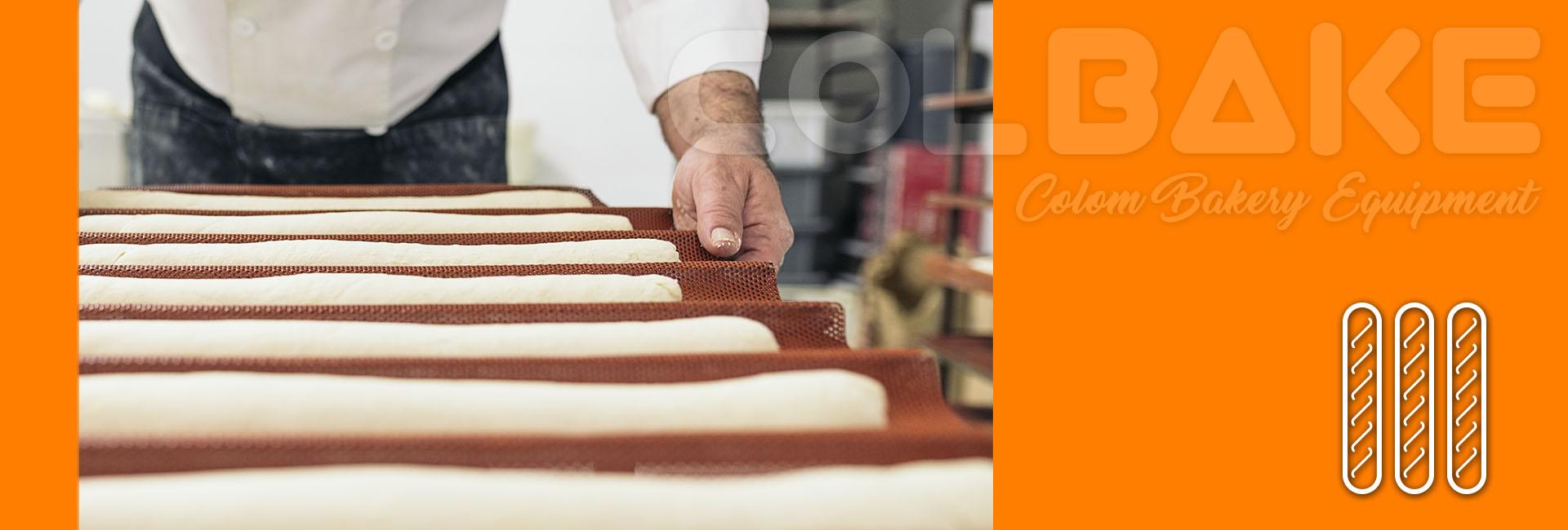 formadoras barras de pan colbake
