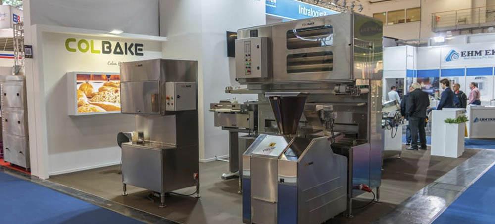 Maquinaria para panadería de Colbake en IBA 2018