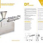 pesadora con henidora datos Volumetric divider with rounder