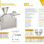 pesadora sin henidora datos Volumetric divider without rounder
