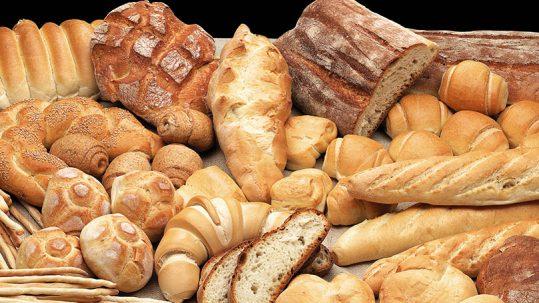 Cortes en la barra de pan formadora barra de pan