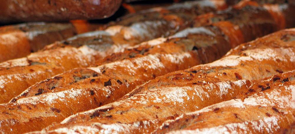 Entabladora automática de barras de pan