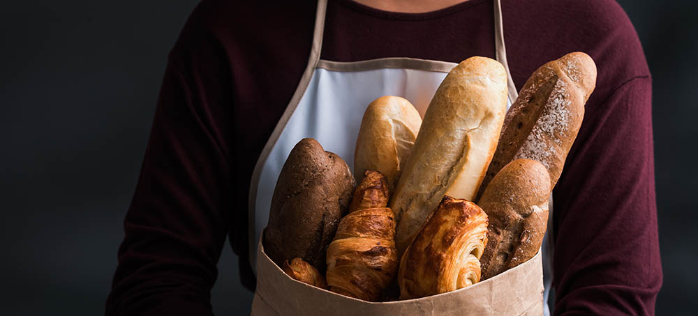 Formadoras barras de pan formatos