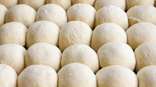 Fermentación de la masa de pan