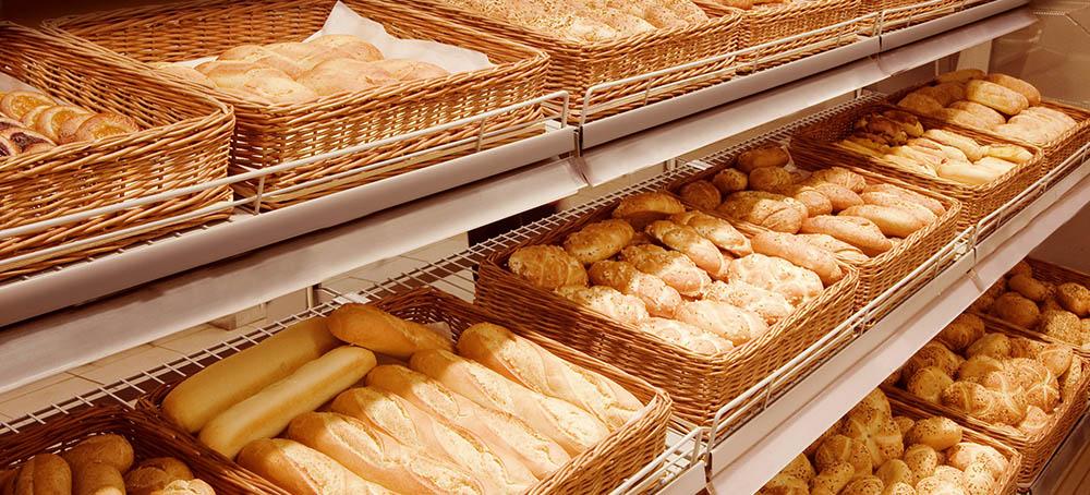 Pan de calidad en la panadería